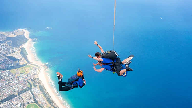 Skydiving Sydney Wollongong